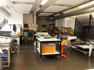 Screen Printing Workshop, Alexon House